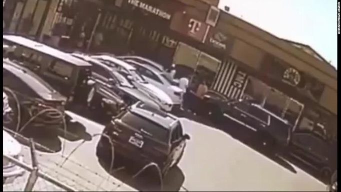 nipsey hussle surveillance video